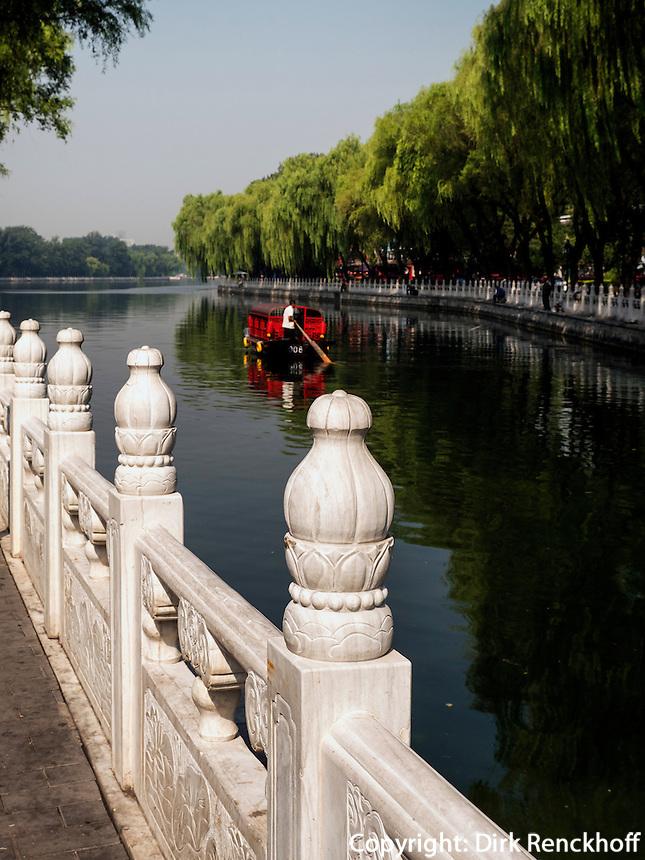 Am See Hou Hai, Peking, China, Asien<br /> at Hou Hai Lake, Beijing, China, Asia