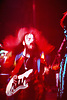 """Roy Wood and Wizard in concert at Worthing Assembly Hall, West Sussex in the early 70s.<br /> <br /> Roy Wood (born 8 November 1946) is an English singer-songwriter and multi-instrumentalist. He was particularly successful in the 1960s and 1970s as member and co-founder of The Move, Electric Light Orchestra and Wizzard. As a songwriter, he contributed a number of hits to the repertoire of these bands.<br /> <br /> The BBC has described Wood as being """"responsible for some of the most memorable sounds of the Seventies"""" and """"credited as playing a major role in the Glam Rock, Psychedelic and Prog Rock movements"""". In 2008, Wood was awarded an honorary doctorate for his contribution to rock and pop by the University of Derby. In 2015, his long and eclectic career was recognised with the """"Outer Limits"""" award at the Progressive Music Awards in London.<br /> <br /> Stock Photo by Paddy Bergin"""