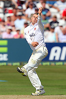 Tom Craddock in bowling action for Essex - Essex CCC vs England - LV Challenge Match at the Essex County Ground, Chelmsford - 30/06/13 - MANDATORY CREDIT: Gavin Ellis/TGSPHOTO - Self billing applies where appropriate - 0845 094 6026 - contact@tgsphoto.co.uk - NO UNPAID USE