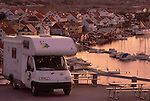 Europe, SWE, Sweden, Bohuslan, Smoegen, Camper, Mobile home, Tourists, Break