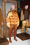 Models pose in outfits from the Descendant of Thieves Fall Winter 2019 collection by Matteo Maniatty, on February 4, 2019; at 55 Water Street for New York Men's Day Fall Winter 2019, during New York Fashion Week: Men's Fall Winter 2019.