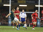 Springbok fullback Pat Lambie<br /> <br /> 2013 Dove Men Series<br /> Wales v South Africa<br /> Millennium Stadium<br /> 09.11.13<br /> ©Steve Pope-Sportingwales