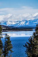 Beautiful Flathead Lake in Northwest Montana near the town of Polson