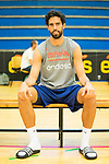 Player Javier Beiran after the first training of Spanish National Team of Basketball 2019 . July 26, 2019. (ALTERPHOTOS/Francis González)