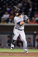 Salt River Rafters outfielder Andrew Aplin (10) during an Arizona Fall League game against the Mesa Solar Sox on October 18, 2014 at Cubs Park in Mesa, Arizona.  Mesa defeated Salt River 8-4.  (Mike Janes/Four Seam Images)