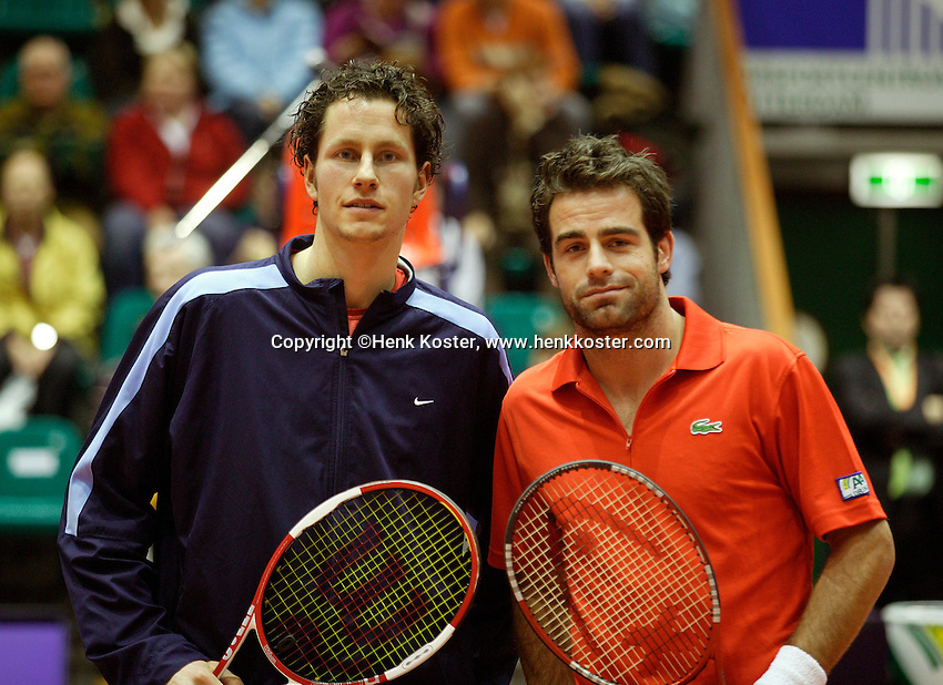 16-12-06,Rotterdam, Tennis Masters 2006, Raemon Sluiter en Jasper Smit