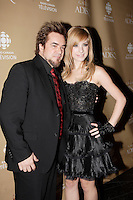 Montreal (Qc) CANADA - October 28 2007-<br /> <br /> Sylvain Cossette, marie-Mai Bouchard<br /> 2007 ADISQ Gala held at Saint-Denis Theater in Montreal