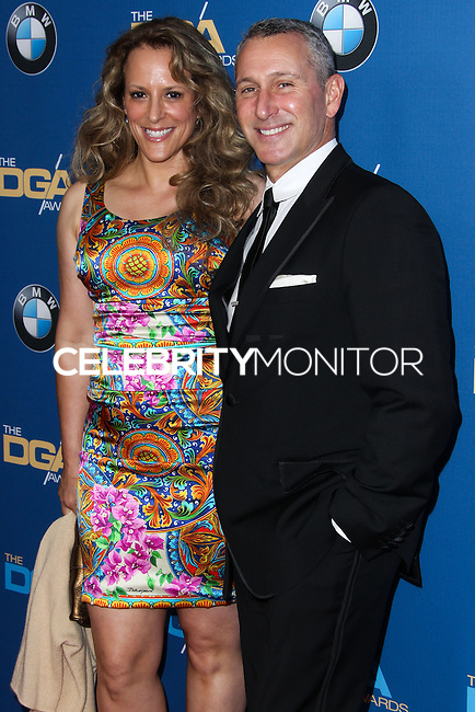 CENTURY CITY, CA - JANUARY 25: Anne Fletcher, Adam Shankman at the 66th Annual Directors Guild Of America Awards held at the Hyatt Regency Century Plaza on January 25, 2014 in Century City, California. (Photo by Xavier Collin/Celebrity Monitor)