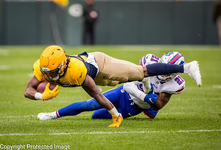 Green Bay Packers against the Buffalo Bills during a regular season game at Lambeau Field in Green Bay on Sunday, September 30, 2018.