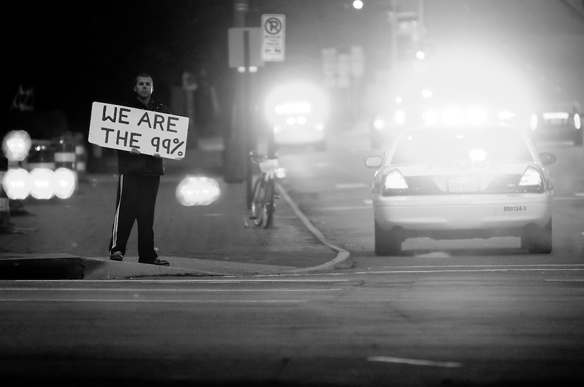 After Occupy Richmond was raided by Major Jones only one man was left standing