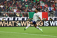 LAS VEGAS, NV - AUGUST 1: Eryk Williamson #19 of the United States before a game between Mexico and USMNT at Allegiant Stadium on August 1, 2021 in Las Vegas, Nevada.