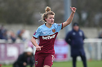 Esmee de Graaf of West Ham during West Ham United Women vs Arsenal Women, Women's FA Cup Football at Rush Green Stadium on 26th January 2020