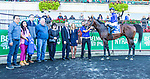 Oct 05, 2019 :  Final Frontier with Jose Lezcano, wins the $150,000 Belmont Turf Sprint Invitational Stakes, at Belmont Park, in Elmont, NY, October 05, 2019. Sue Kawczynski_ESW_CSM,
