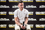 """Atletico de Madrid's Saul Ñiguez during the presentation of the video game """"Call of Duty. Infinite Warfare"""" in Madrid, Spain. December 15, 2016. (ALTERPHOTOS/BorjaB.Hojas)"""