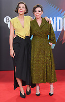 """**North America Only***<br /> <br /> Maggie Gyllenhaal and Olivia Colman attend """"The Lost Daughter"""" UK Premiere at The Royal Festival Hall during the 65th BFI London Film Festival in London.<br /> <br /> OCTOBER 13th 2021<br /> <br /> Credit: Matrix / MediaPunch"""
