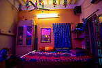 An empty room of a sex worker in Sonagachi, who left for her village before the 21 days lock down in India due to covid 19 pandemic. Kolkata, West Bengal, India. Arindam Mukherjee.
