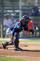 Minnesota Twins catcher Kurt Suzuki (8) during a Spring Training practice on March 1, 2016 at Hammond Stadium in Fort Myers, Florida.  (Mike Janes/Four Seam Images)