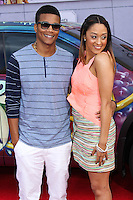 """HOLLYWOOD, LOS ANGELES, CA, USA - MARCH 11: Cory Hardrict, Tia Mowry at the World Premiere Of Disney's """"Muppets Most Wanted"""" held at the El Capitan Theatre on March 11, 2014 in Hollywood, Los Angeles, California, United States. (Photo by Xavier Collin/Celebrity Monitor)"""