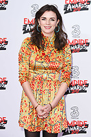 Aisling Bea<br /> arriving for the Empire Film Awards 2017 at The Roundhouse, Camden, London.<br /> <br /> <br /> ©Ash Knotek  D3243  19/03/2017