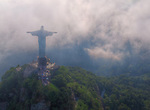 From the clouds over Rio