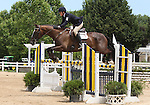 12 July 2009: Rebecca Howard riding Roquefort during the showjumping phase of the CIC 2* Maui Jim Horse Trials at Lamplight Equestrian Center in Wayne, Illinois.
