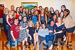 Katie Murphy from Listellick celebrating her 18th birthday at home on Saturday night. <br /> L to r: Garry, Natalie, Sharon, Katie, Laura, Kevin and Rebecca Murphy