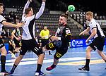 Jannik Kohlbacher (Deutschland #48) ; EHF EURO-Qualifikation / EM-Qualifikation / Handball-Laenderspiel: Deutschland - Estland am 02.05.2021 in Stuttgart (PORSCHE Arena), Baden-Wuerttemberg, Deutschland.<br /> <br /> Foto © PIX-Sportfotos *** Foto ist honorarpflichtig! *** Auf Anfrage in hoeherer Qualitaet/Aufloesung. Belegexemplar erbeten. Veroeffentlichung ausschliesslich fuer journalistisch-publizistische Zwecke. For editorial use only.