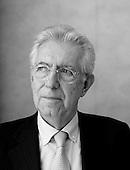 Portraits of Mario Monti by Piotr Malecki