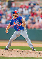 3 March 2016: New York Mets pitcher Jeff Walters on the mound during a Spring Training pre-season game against the Washington Nationals at Space Coast Stadium in Viera, Florida. The Mets fell to the Nationals 9-4 in Grapefruit League play. Mandatory Credit: Ed Wolfstein Photo *** RAW (NEF) Image File Available ***