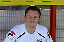 Stevenage performance analyst Mitchell Jones<br />  - Stevenage v Bradford City - Sky Bet League 1 - Lamex Stadium, Stevenage - 31st August, 2013<br />  © Kevin Coleman 2013