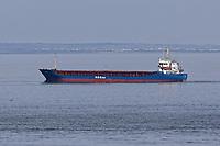 2020 05 08 Boats off Bracelet Bay near Swansea, Wales, UK