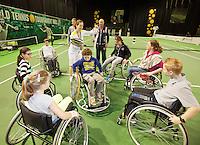 13-02-13, Tennis, Rotterdam, ABNAMROWTT, Wheelchair Experience