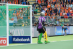 The Hague, Netherlands, June 14: Photographers in action during the field hockey gold medal match (Women) between Australia and The Netherlands on June 14, 2014 during the World Cup 2014 at Kyocera Stadium in The Hague, Netherlands. Final score 2-0 (2-0)  (Photo by Dirk Markgraf / www.265-images.com) *** Local caption ***