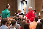June 5, 2015; Fr. John Jenkins, C.S.C. celebrates Mass with the Class of 2010 in the Keenan-Stanford Chapel, Reunion 2015. (Photo by Matt Cashore/University of Notre Dame)