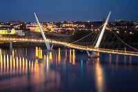 The Peace Bridge. Derry/Londonderry, Northern Ireland.