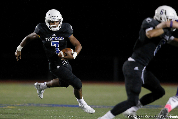 Boswell plays Denton in district 5-5A high school football in Fort Worth on Friday, October 2, 2015. Boswell won 44-38. (photo by Khampha Bouaphanh)