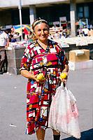 Chinese Wall Street scenes from Baku, Azerbaijan