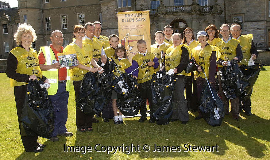 """24/08/2005         Copyright Pic : James Stewart.File Name : jspa07_litter.THE FALKIRK COUNCIL """"COMMUNITY LITTER PLAN"""" AND """"LITTERZONE WEBSITE"""" LAUNCH AT CALLENDAR HOUSE, 24TH AUGUST 2005......Payments to :.James Stewart Photo Agency 19 Carronlea Drive, Falkirk. FK2 8DN      Vat Reg No. 607 6932 25.Office     : +44 (0)1324 570906     .Mobile   : +44 (0)7721 416997.Fax         : +44 (0)1324 570906.E-mail  :  jim@jspa.co.uk.If you require further information then contact Jim Stewart on any of the numbers above........."""