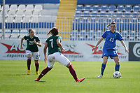 20190227 - LARNACA , CYPRUS : Italian defender Cecilia Salvai pictured during a women's soccer game between Mexico and Italy , on Wednesday 27 February 2019 at the Antonis Papadopoulos Stadium in Larnaca , Cyprus . This is the first game in group B for both teams during the Cyprus Womens Cup 2019 , a prestigious women soccer tournament as a preparation on the FIFA Women's World Cup 2019 in France and the Uefa Women's Euro 2021 qualification duels. PHOTO SPORTPIX.BE | STIJN AUDOOREN