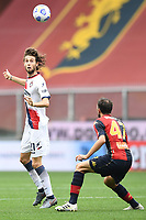 Niccolo' Zanellato <br /> Serie A football match between Genoa CFC and FC Crotone at Marassi Stadium in Genova (Italy), September 20th, 2020. Photo Image Sport / Insidefoto