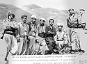 Iraq 1968 <br /> First group getting military training in Choman: 3rd, right, Fazel, 4th, Rassoul Marmand , 5th, Najmeddin Yousefi  <br /> Irak 1968 <br /> 1er groupe recevant une formation militaire a Choman: 3eme a droite, Fazel, 4eme, Rassoul Marmand , 5eme Najmeddin Yousefi