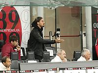 Milano 12-05 2021<br /> Stadio Giuseppe Meazza<br /> Serie A  Tim 2020/21<br /> Milan - Cagliari<br /> Nella foto:Zlatan Ibraimovic                                       <br /> Antonio Saia Kines Milano