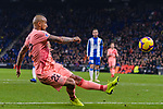 Arturo Vidal of FC Barcelona in action during the La Liga 2018-19 match between RDC Espanyol and FC Barcelona at Camp Nou on 08 December 2018 in Barcelona, Spain. Photo by Vicens Gimenez / Power Sport Images
