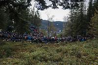 massive crowds up Mount Fløyen<br /> <br /> Men Elite Individual Time Trial<br /> <br /> UCI 2017 Road World Championships - Bergen/Norway