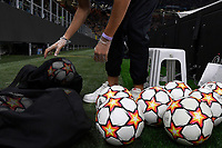 A ball bay prepares the Adidas official balls during the Uefa Champions League group D football match between FC Internazionale and Real Madrid at San Siro stadium in Milano (Italy), September 15th, 2021. Photo Andrea Staccioli / Insidefoto