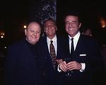 MASSIMO BOLDI CON RENZO ARBORE E CHRISTIAN DE SICA<br /> FESTA CORBUCCI CATSELLO DELLA CRESCENZA ROMA 1999