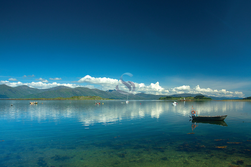 Loch Linnhe and Ardgour from Port Appin, Argyll & Bute