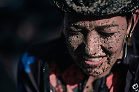 Sophie De Boer (NED/Breepark) after finishing<br /> <br /> Women's race<br /> Superprestige Gavere / Belgium 2017