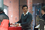 The new Welsh Football Manager Chris Coleman meeting fans at the Waterfront Museum in Swansea where he held a question and answer sessions with Welsh football fans.