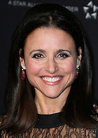 BEVERLY HILLS, CA, USA - OCTOBER 30: Julia Louis-Dreyfus arrives at the 2014 BAFTA Los Angeles Jaguar Britannia Awards Presented By BBC America And United Airlines held at The Beverly Hilton Hotel on October 30, 2014 in Beverly Hills, California, United States. (Photo by Xavier Collin/Celebrity Monitor)
